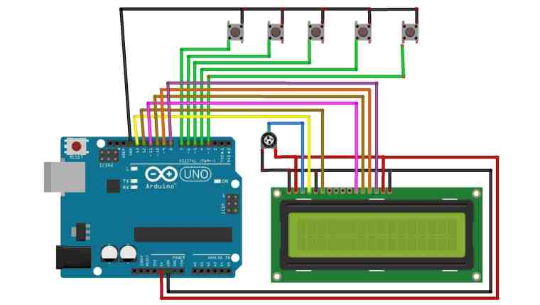 Circuit Diagram Electronic Voting Machine