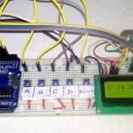 Electronic Voting Machine Arduino