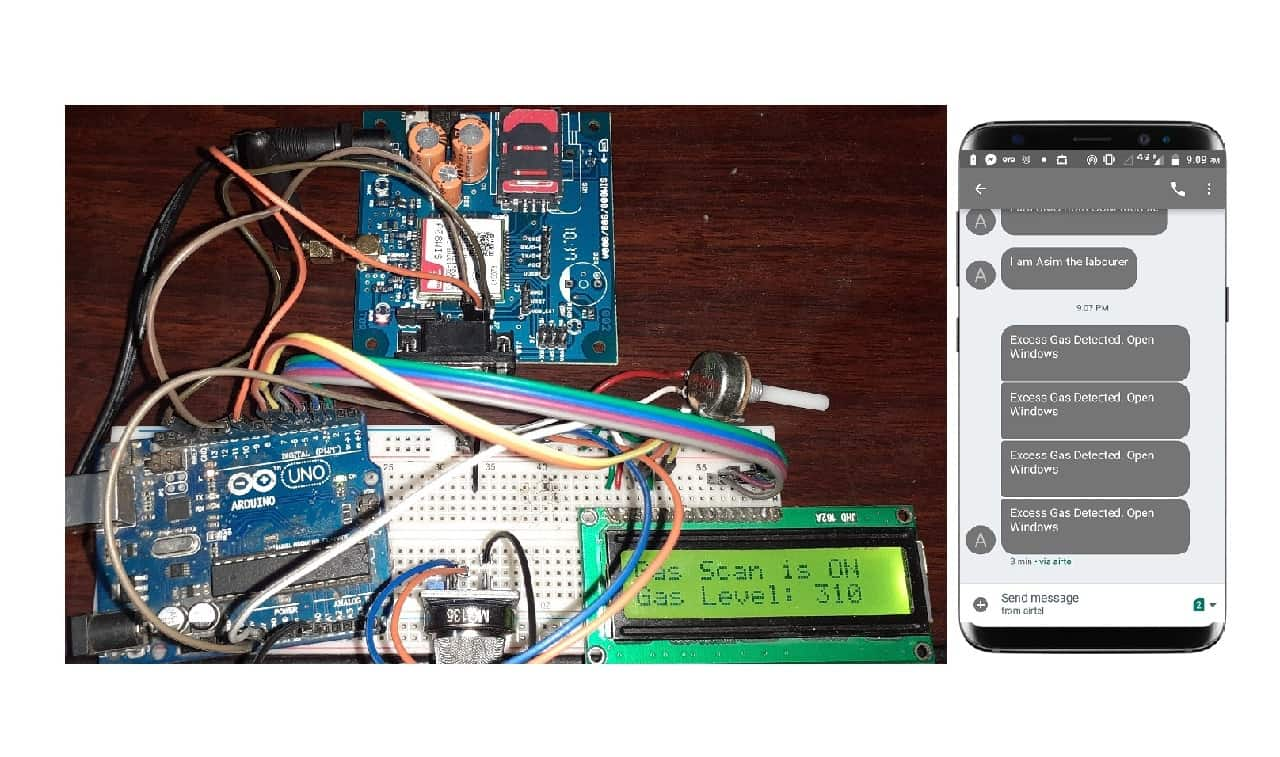 Lpg Gas Leakage Sensor Alarm