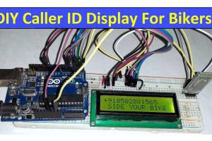 Caller ID Display Bikers Bluetooth