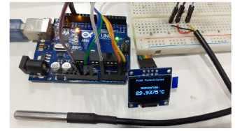 Digital Tachometer using IR Sensor with Arduino for measuring RPM