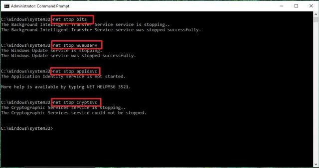 net-stop-windows-update-services