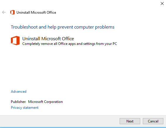 Fix Activation Error 0x4004F00C in Office 2010/2013/2016 and