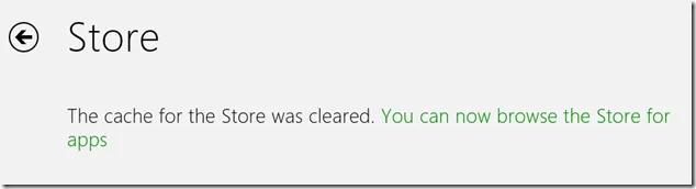 Reset Windows Store Apps