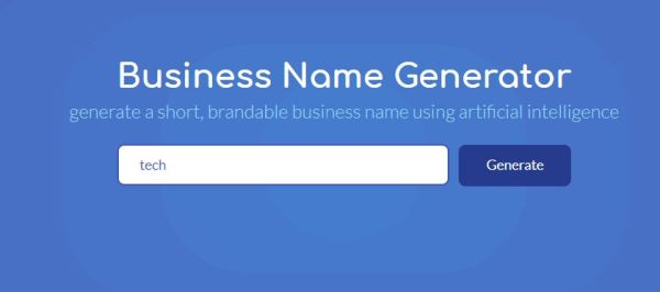 free catchy business names generator # 13