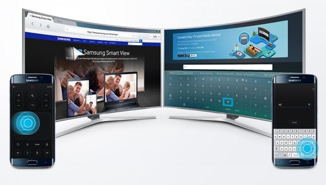 Smart View TV remote control feature
