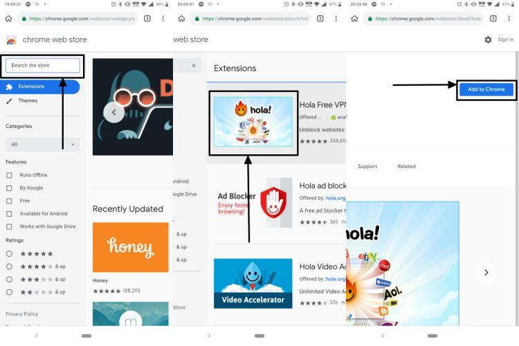 Chrome App Install