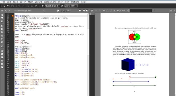 Texmaker best latex editor for windows Linux and MacOS