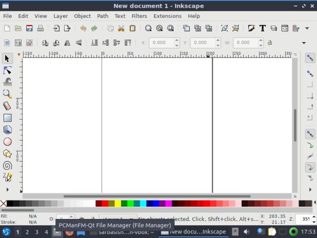 run Inkscape