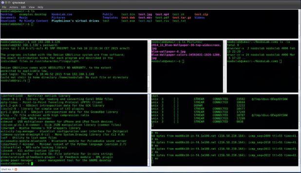 QTerminal- best lightweight Qt-based terminal emulator