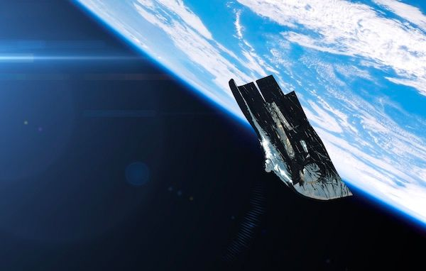 Mysterious Black Knight Satellite
