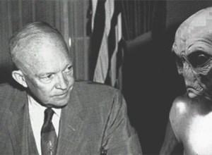 US President Eisenhower