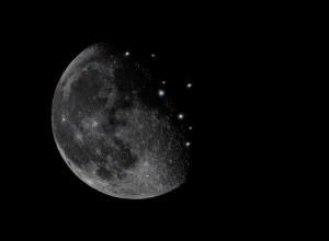 Mysterious Lights On Moon