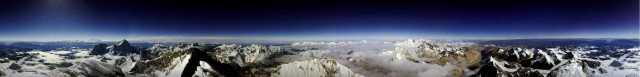 Mt. Everest pananormic view