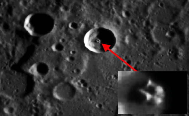 ancient spaceship on mercury