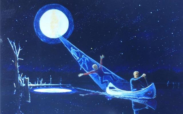 Allagash abduction painting