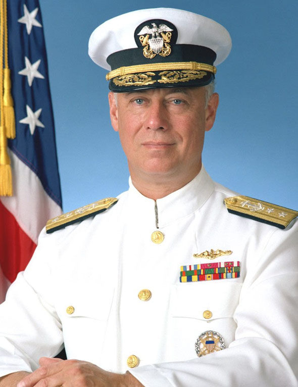 Rear Admiral Dean Reynolds