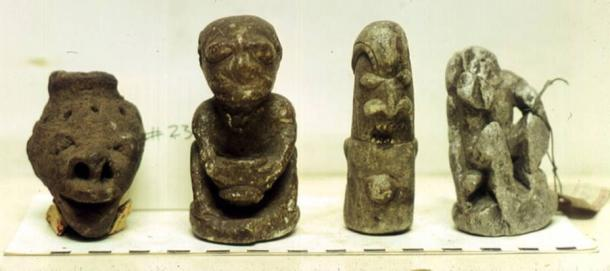 Humanoid looking Nomoli figures