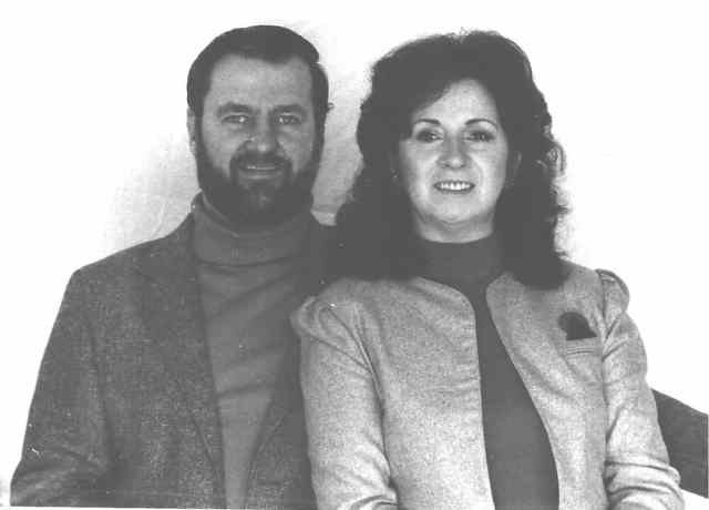 Betty Andreasson and Bob Luca