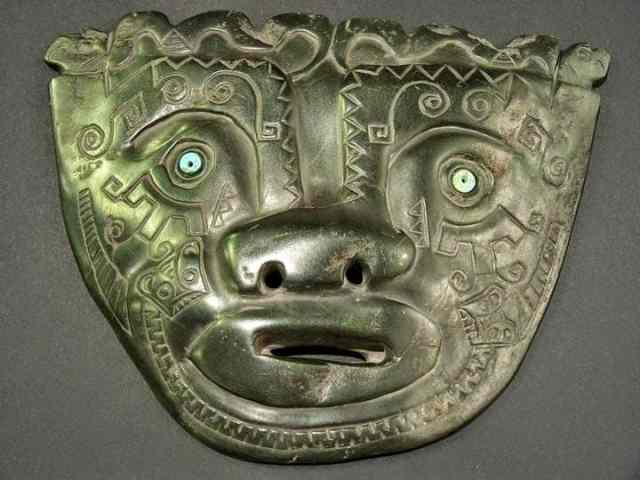 Mysterious mask of giants