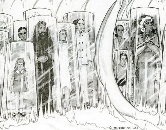 Бетти Андреассон нарисовала то, что Фаулер назвал Музеем времени.