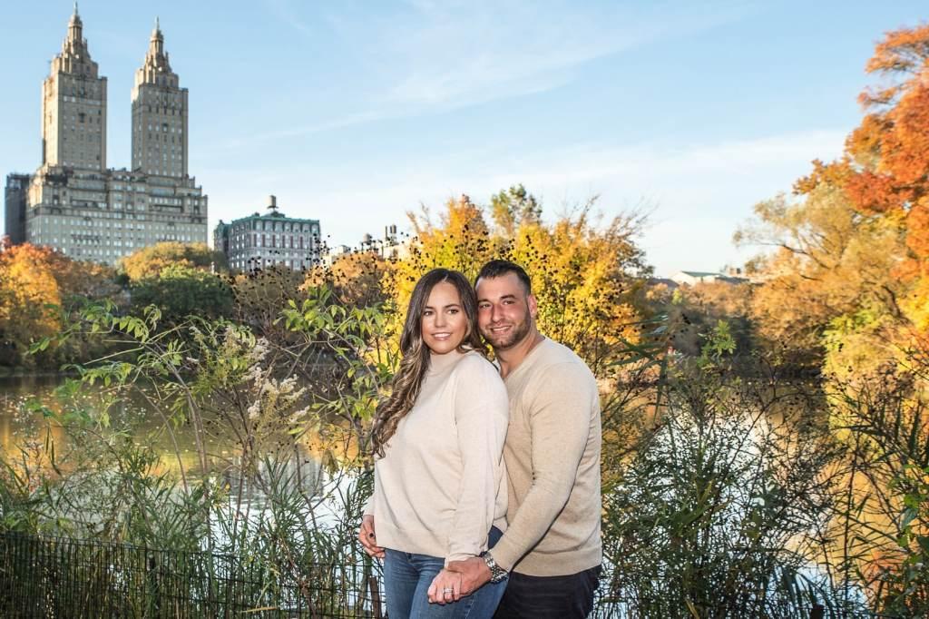engagement photographers new york city