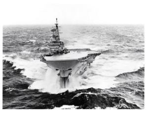 HMS Hermes 1979 Bay of Biscay