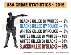 BLACK LIVES ARE THE KILLERS