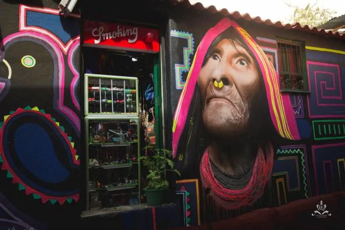 graffiti bogota colombia