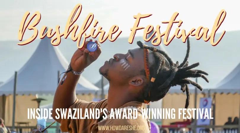 Bushfire Festival in Swaziland