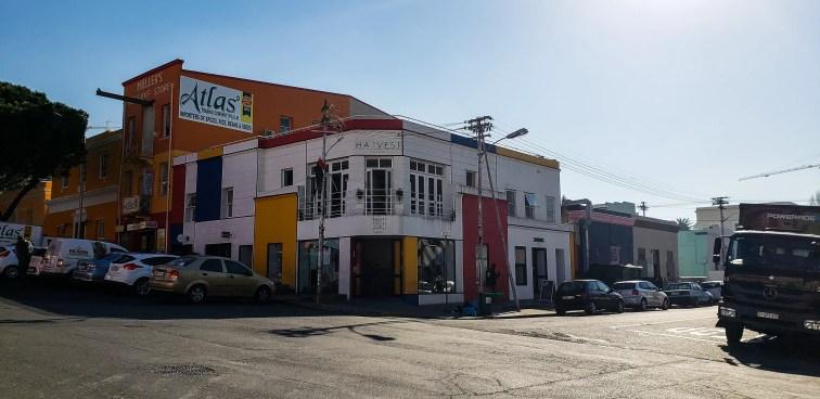 Bo Kaap colorful houses main strip