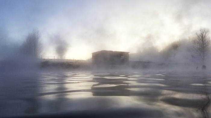thermal pools Iceland in the winter, Iceland road trip, Iceland