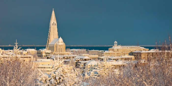 reykjavik in the winter