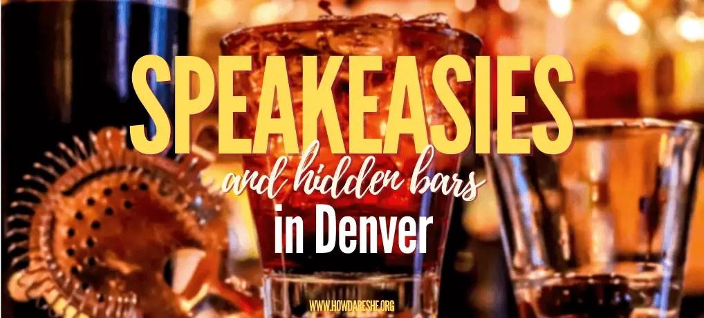 Hidden bars and speakeasies in Denver