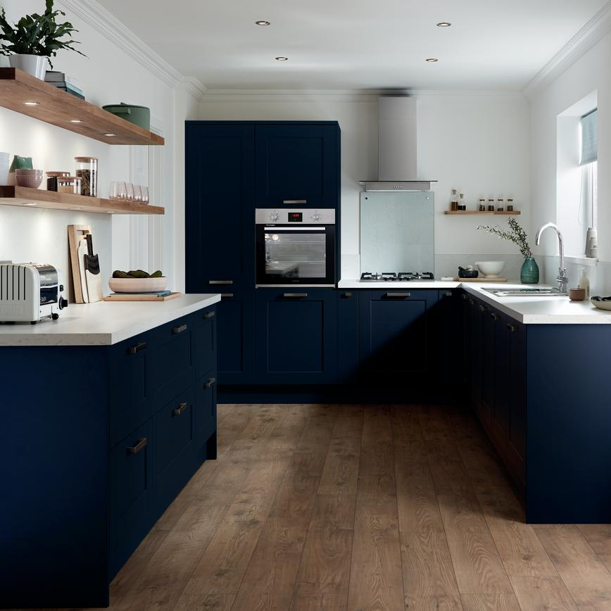 Small U Shaped Kitchen Design Layouts