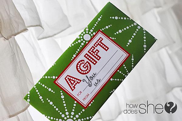 Printable Christmas Gift Card Envelopes Papa Johns Promo