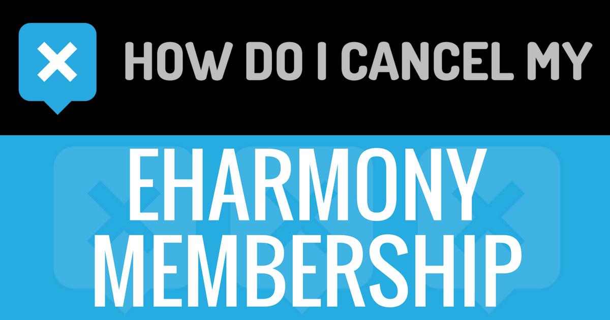 How can i cancel my eharmony membership