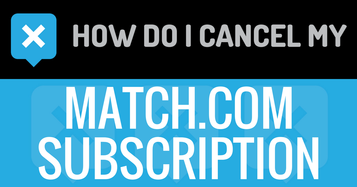 How to cancel match account