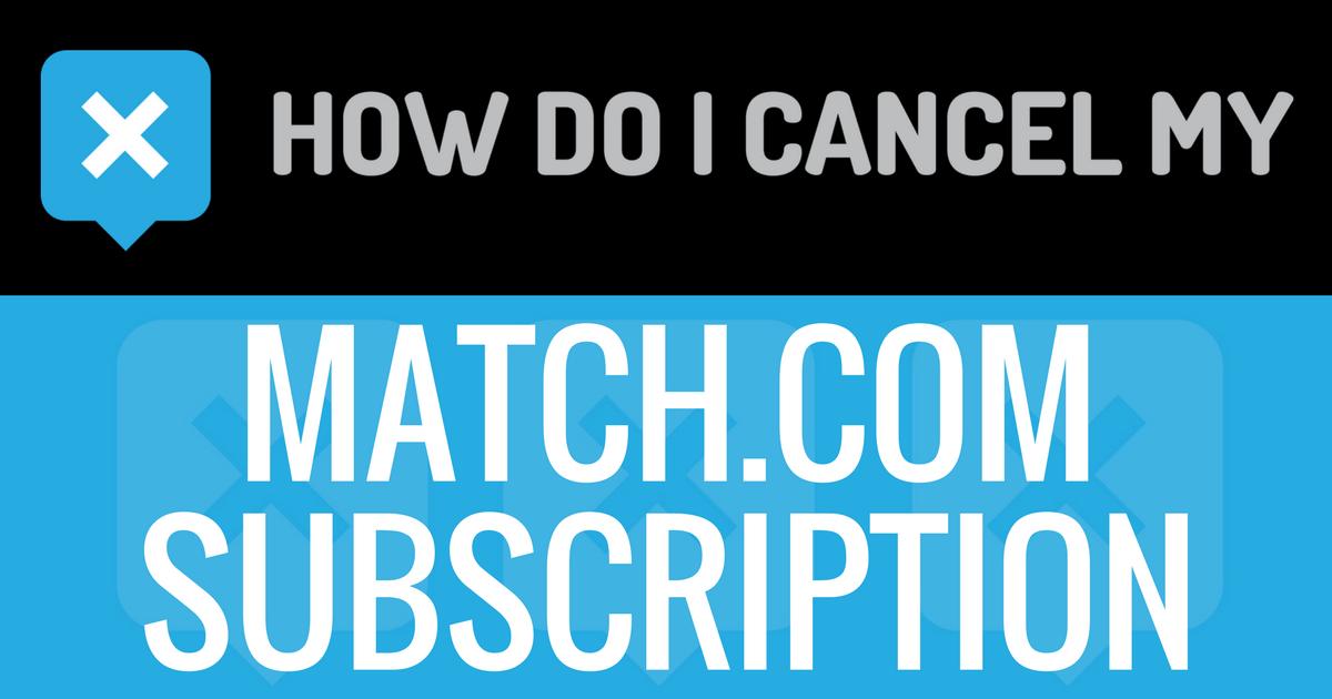 Number to cancel match com