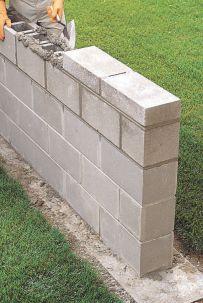 How to Lay Concrete Block13