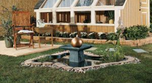 Garden Pond &  Fountain