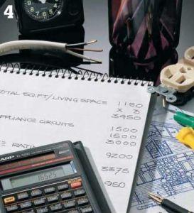 Evaluate electrical loads