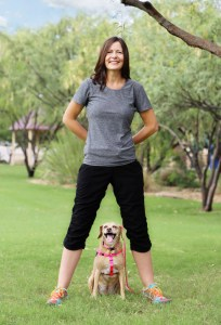 Kim Silver with KPA dog Marly