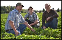 Glenn Howe ontario farm family