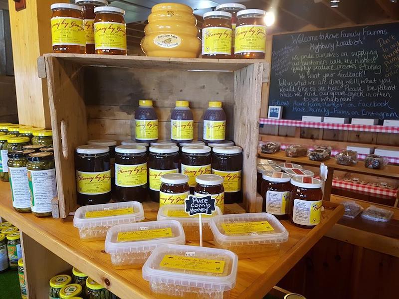 raw honey farmers market