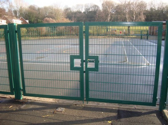 Mesh Systems Gates Industrial Gates