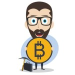 free bitcoin icon plaine