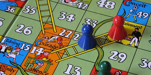 Snakes and ladders by Jacqui Brown, see more of Jacqui Brown's work on Flicker.com