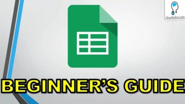 How to use Google Sheets a Beginners Guide