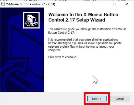 X-Mouse Button Control Setup